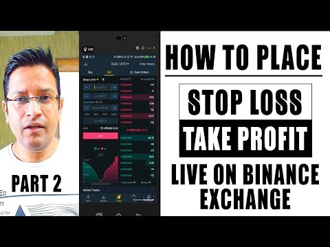 How To Place STOP LOSS, STOP LIMIT ORDER, BUY LIMIT ORDER, TAKE PROFIT On Crypto Exchange Binance