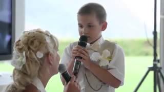 Песня сына с мамой на свадьбе