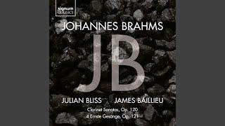 Play 4 Ernste Gesange, Op. 121 II. Ich wandte mich, und sahe an alle - Arr. Julian Bliss