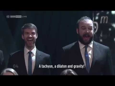 Bohemian Gravity - Choir of the Technical University of Vienna [with subtitle]