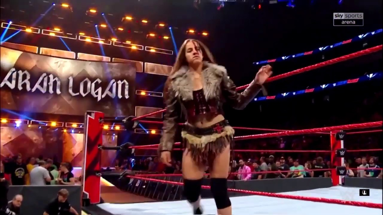 Sarah Logan entrance with another new theme — WWE Main Event, August 22, 2019