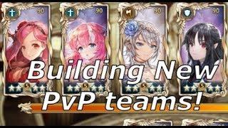 [King's Raid] Building Teams around Scarlet!