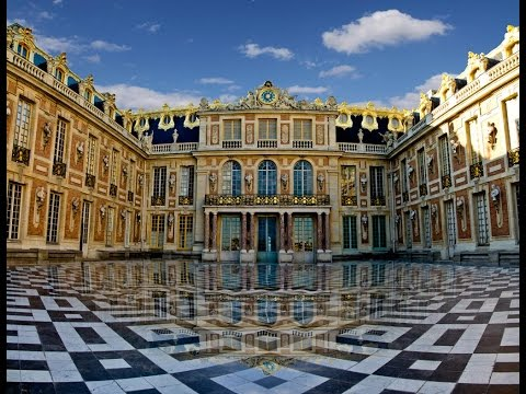 A Walk Around The Palace At Versailles in December