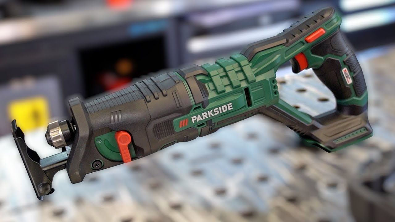 PARKSIDE Elektrosäge VS. 20 mm Stahlplatte?! | Härtetest Akku Säge vom Discounter LIDL | #igorwelder