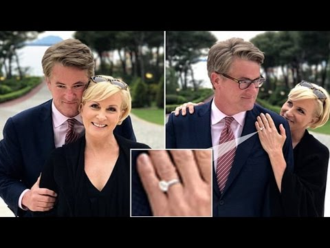 Thumbnail: Mika Brzezinski shows off engagement ring from Joe Scarborough | joe scarborough and mika brzezinski