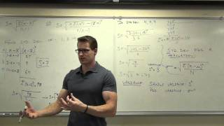 Statistics Lecture 3.3: Finḋing the Standard Deviation of a Data Set