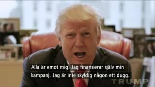 USA-valet - vilken kandidat har bästa reklamfilmen? - Nyhetsmorgon (TV4)