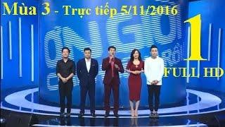 Ơn Giời Cậu Đây Rồi 2016 Tập 1 Ngày 5/11/2016 - Mùa 3 Tập 1   Hoài Linh [FULL HD]