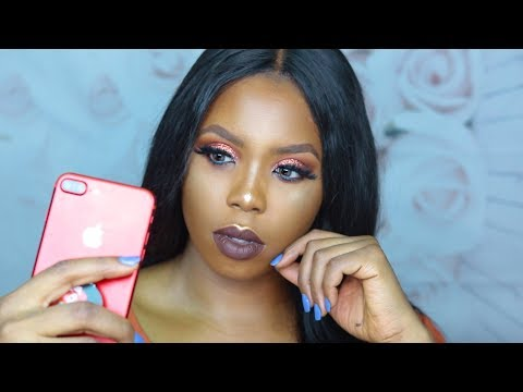 GET READY WITH ME /  Being a BEAUTY INFLUENCER in Nigeria, the Struggle is real!!!