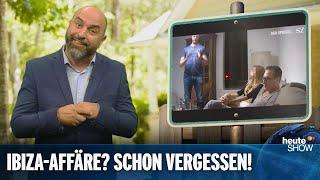 Neuwahl in Österreich: Koaliert Kurz wieder mit der FPÖ? | heute-show vom 27.09.2019