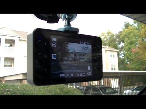 Видеорегистратор К6000 + Карта памет 16GB 2