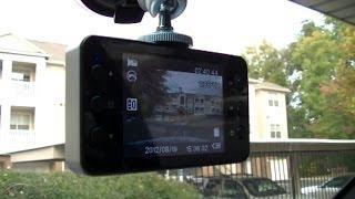 Car, Dash Camera K6000 Video tests, Day & Night, Авторегистратор