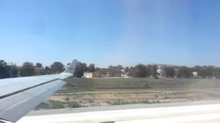 Видео из самолета во время взлета. Греция(Перелет из Греции в Москву. Аэропорт в Греции. Samsung Galaxy S., 2013-01-12T20:22:33.000Z)