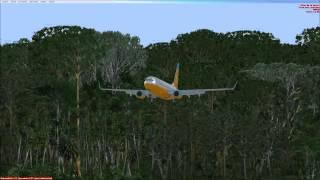 Flight Simulator X | Aterrizaje en Cancun Mexico | Random