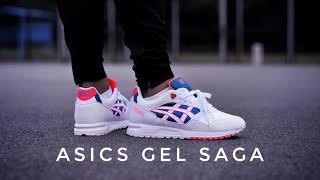 Asics GEL SAGA - On Foot \u0026 Review - YouTube