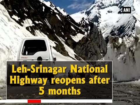 Leh-Srinagar National Highway reopens after 5 months - Jammu and Kashmir News