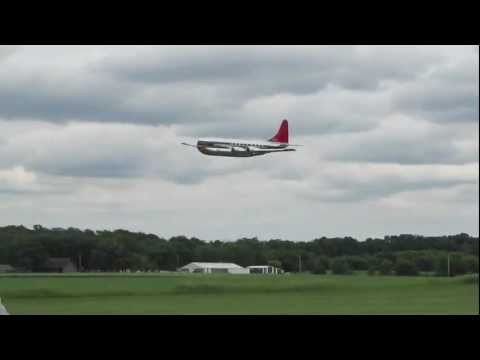Boeing 377 Stratocruiser Giant scale.mov