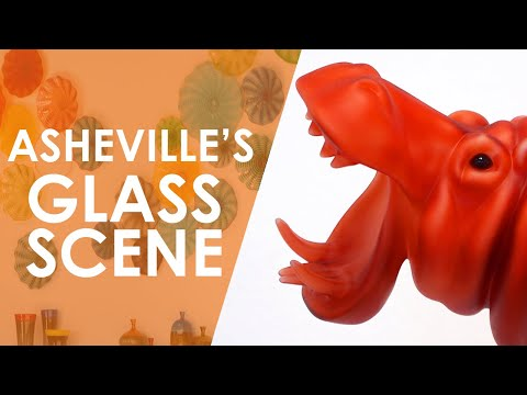 Asheville's Glass Scene  North Carolina Weekend  UNC-TV