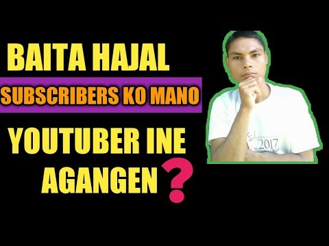 Badita Subscribers Ko Mano Youtuber Ine Agangen?||garo Video