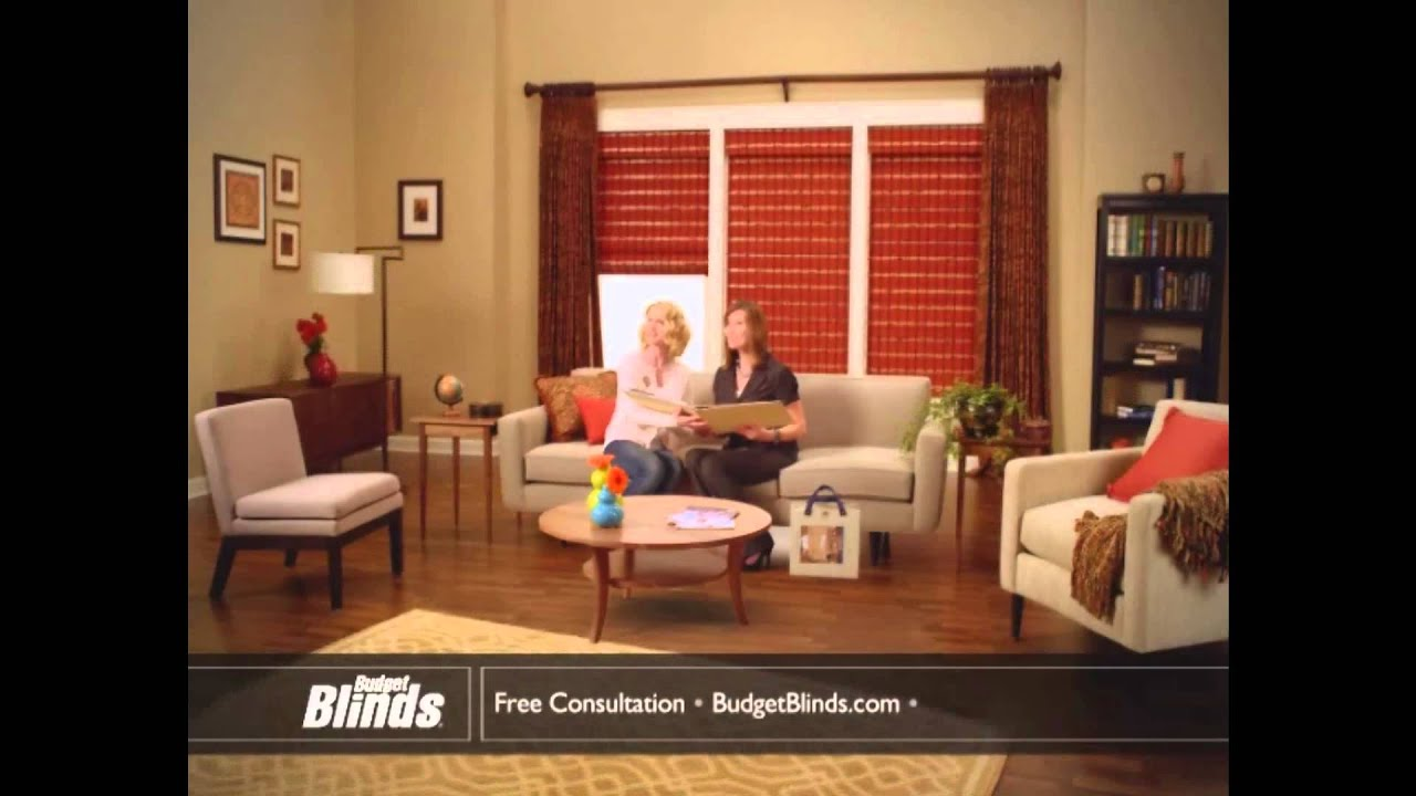 your free in home consultation with budget blinds today youtube