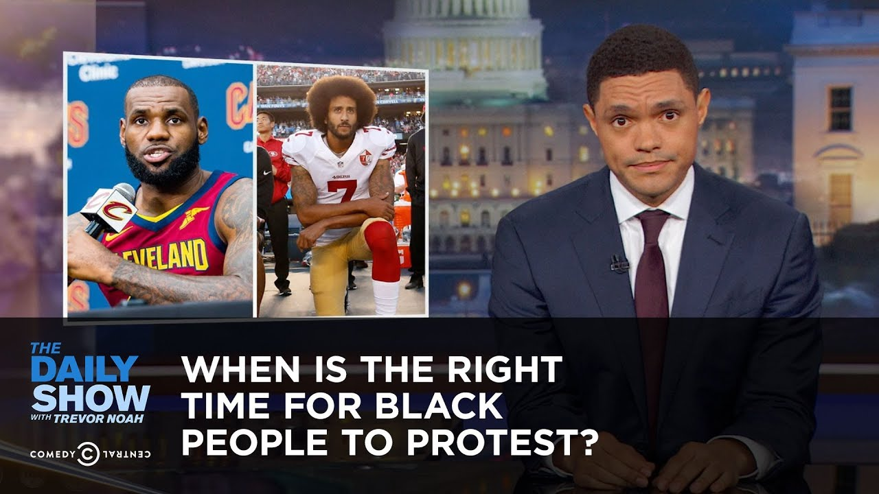 When Is the Right Time for Black People to Protest?: The Daily Show