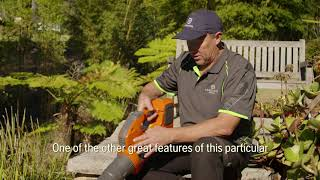 Husqvarna Battery Blower Review - Verduous Gardens