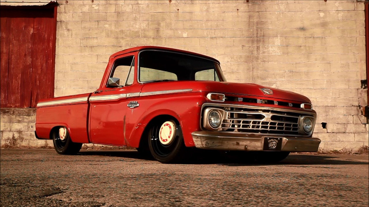 Quot Turpentine Quot Supercharged 1966 Ford F100 Slammed Air Ride