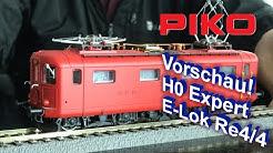 PIKO [V086] Vorschau! H0 Expert E-Lok Re 4/4 SBB #96870ff Muster - Exklusivmodell Schweiz