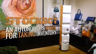 StockBot - An autonomous robot for taking inventory