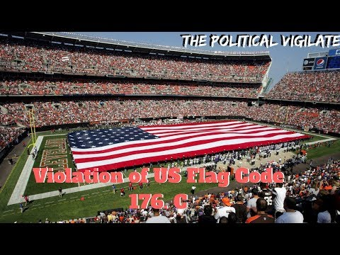NFL And Fans Disrespect Flag Every Week — The Political Vigilante