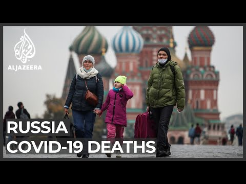 Russia admits COVID death toll third-worst in the world