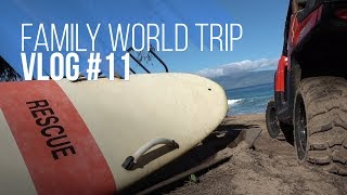 FAMILY WORLD TRIP VLOG#11 | YOUTUBE SURF CHALLENGE