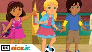 Dora and Friends | Sing Along - Kick it to the Beat | Nick Jr. UK