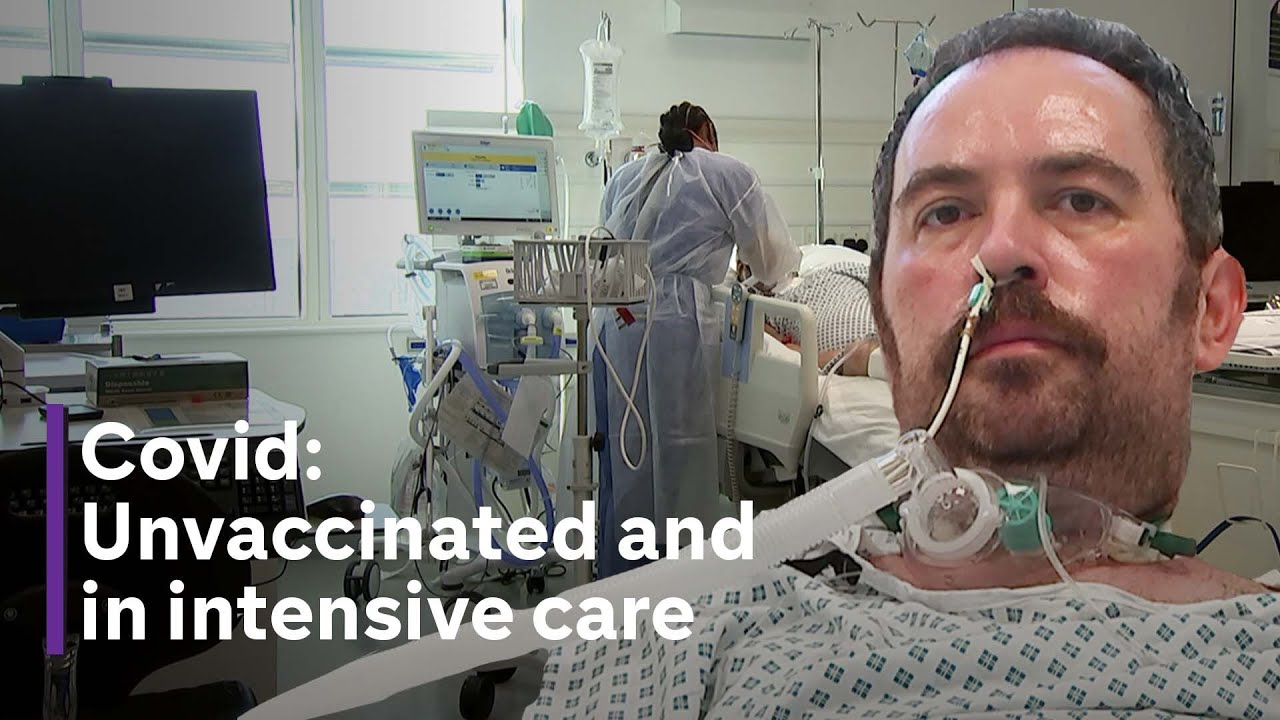 Covid: The unvaccinated patients in intensive care