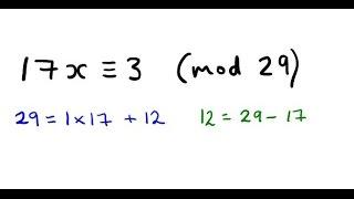 Gambar cover Solve a Linear Congruence using Euclid's Algorithm