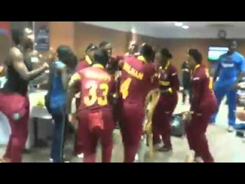 West Indies Women's team Celebrate after their WT20 Victory