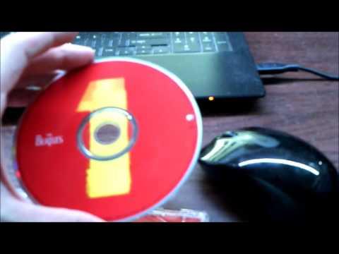 Beatles CDs and vinyl