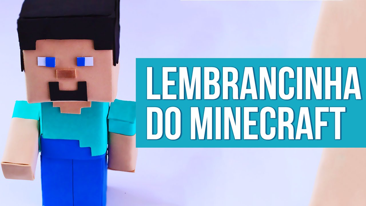 Lembrancinha Do Minecraft Youtube