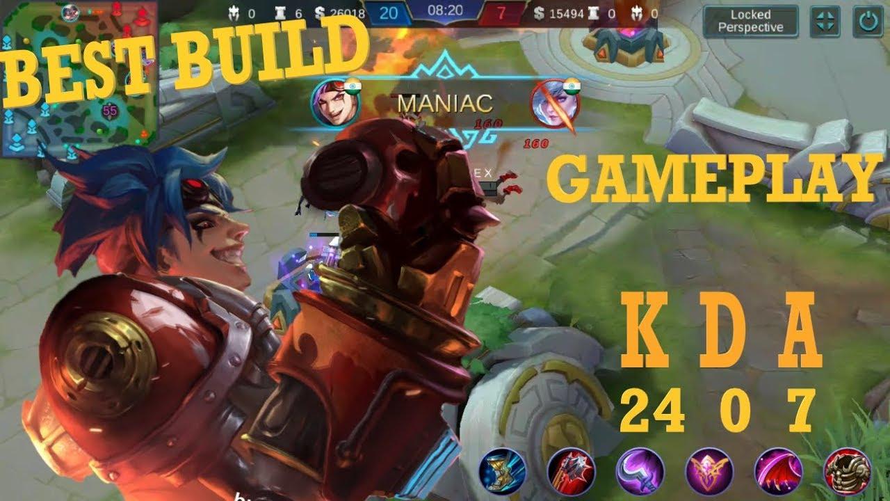 X.BORG best build gameplay   KDA   Mobile Legends   YouTube