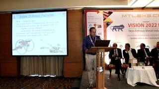 Mr. Subhodeep Choudhary, Ordnance Factory Board at Mtlexs:Make In India-Vision 2022 Conf.