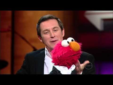 Elmo from Sesame Street on Rove Live - very funny interview (2006) (HQ)