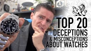 Top 20 Misconceptions & Deceptions About Watches On Social Media + Hugo Goes On The Run!