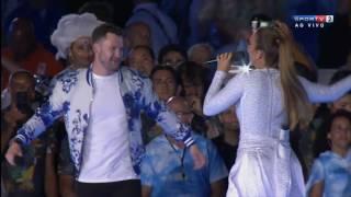 Ivete Sangalo no encerramento das Paralimpiadas Rio 2016