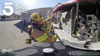 Life Inside a Fire Station in 360