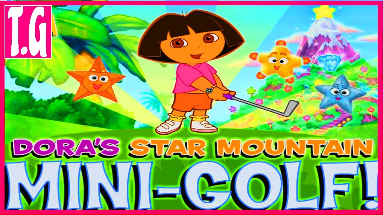 Dora's Star Mountain Mini-Golf online - Dress Up Games