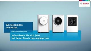 Luft-/Wasserwärmepumpen von Bosch