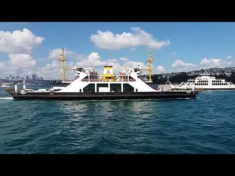 رحلة في مضيق البوسفور اسطنبول تركيا 2017 (İstanbul Boğazı (bosphorus