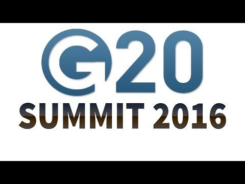G20 Summit 2016 - Review & Analysis