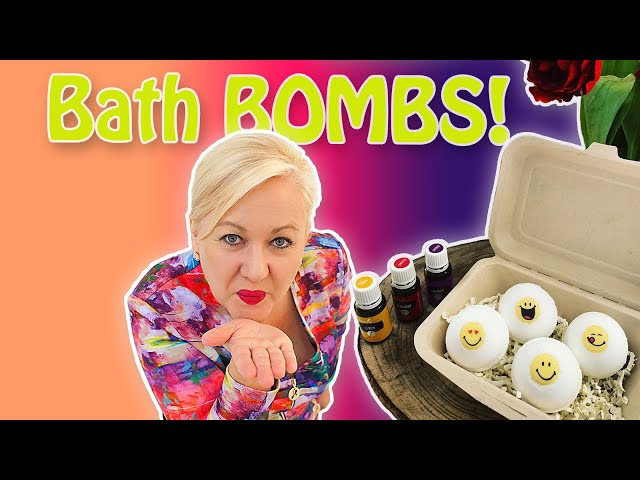 How to Create AMAZING Non-Toxic Bath Bombs