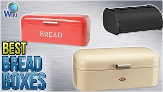 10 Best Bread Boxes 2018